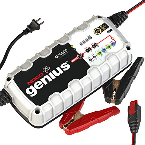 - NOCO Genius G26000 12V/24V 26 Amp Pro-Series Battery Charger and Maintainer