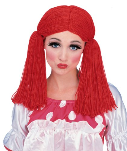 - Rag Doll Wig Costume Accessory