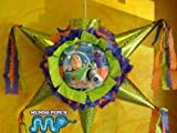 "PINATA BUZZ LIGHTYEAR DISNEY Piñata Hand Crafted 26""x26""x12""[Holds 2-3 Lb. Of Candy][for Any Ocasion]"