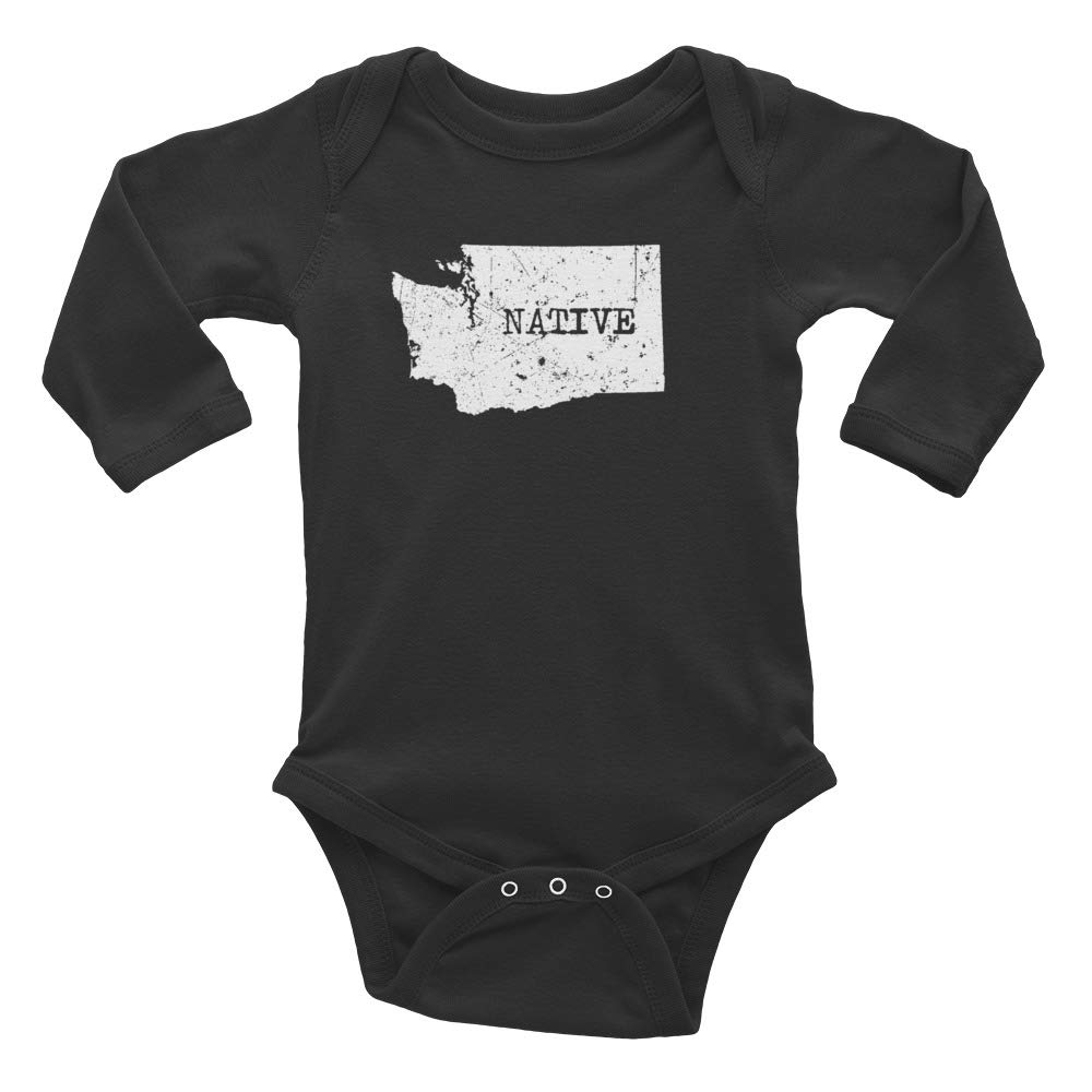 Washington Native Baby Infant Long Sleeve Bodysuit
