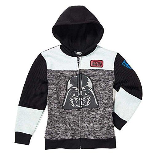 r Little Boys Fleece Zip Up Hoodie (4T) (Darth Vader Life)