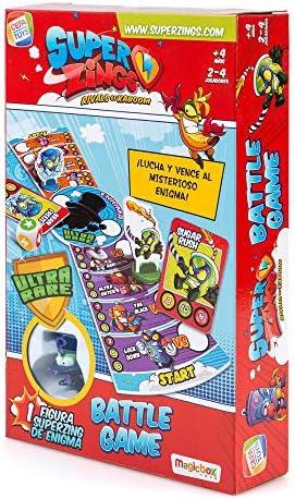 SuperZings- Enigma Juego de Mesa Batt Game Castellano, Multicolor, Talla Única (Cefa Toys 1): Amazon.es: Juguetes y juegos