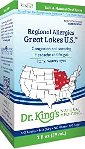 Dr. King's Natural Medicine Regional Allergies, Great Lakes U.S, 2 Fluid Ounce
