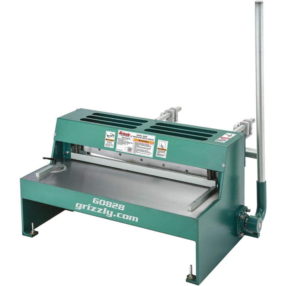 Grizzly G0828-25'' Benchtop Metal Shear