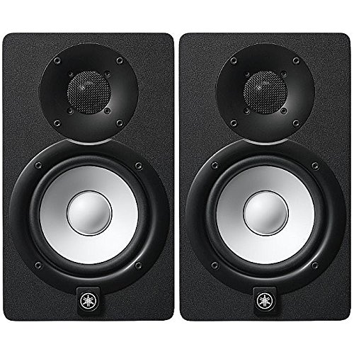 Yamaha HS5 PAIR 5-inch Powered Studio Monitor Pair PA & Stage at amazon