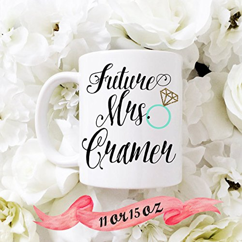 Future Mrs Mug Future Mrs Cup Engaged Mug Engaged Cup Engaged Gift Engagement Mug Engagement Gift for Her Bride to Be Gift Proposal Gift - Mug Customer For Women