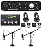 Best Mackie Pc Monitors - Mackie Podcast Podcasting Bundle w/Interface+(2) Mics+(2) Headphones+Amp+Stands Review