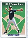 1993 Topps Derek Jeter Rookie Card #98 New York Yankees