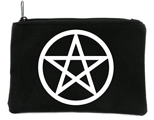 Wicca Ritual Pentagram Cosmetic Makeup Bag Alternative Witchcraft Accessories -