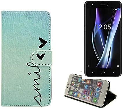 K-S-Trade 360° Funda Smartphone para BQ Aquaris X Pro, Smile ...