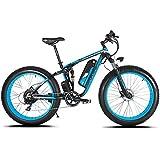 Extrbici MTB Bicicleta Eléctrica Híbrida de Montaña para Hombre 1000W 48V 13A Con Puerto USB y