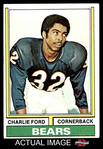 1974 Topps # 151 Charlie Ford Chicago Bears (Football Card) Dean's Cards 4 - VG/EX Bears (1974 Topps Football)
