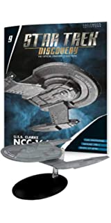 USS Edison NCC-1683 Hoover-class Eaglemoss Star Trek Discovery Issue 15 w//Mag