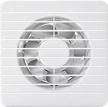 Accesorios de baño Ventilador Ventilación Instalación en la pared o en la ventana Baño Ventilador de escape Blanco Proporciona tamaño Corriente silenciosa (Size : 8C): Amazon.es: Bricolaje y herramientas