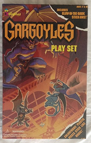 Gargoyle Ball (Vintage Colorforms Gargoyles Play Set)