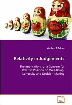 Relativity in Judgements