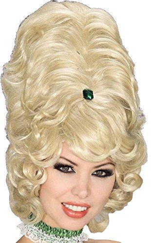 Forum Novelties Gogo Beehive Wig, Blonde (Ladies Halloween Costumes Next Day Delivery)