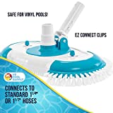 """U.S. Pool Supply 16"""" Weighted Pool Vacuum Head with"""