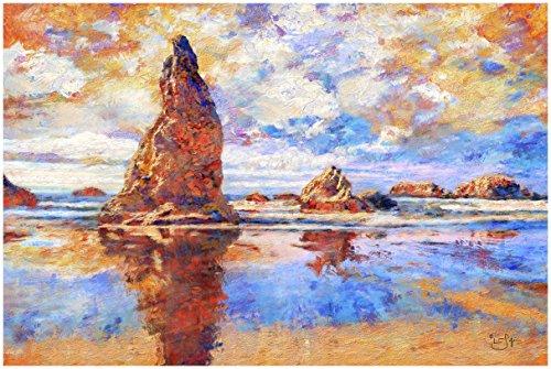 (Wizard's Hat (Bandon, Oregon) Paper Giclée Fine Art Print Lisa Sofia Robinson (30