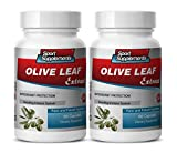 Product review for antioxidant anti aging - Olive Leaf Extract 500MG - extract olive leaf - 2 Bottles (120 Capsules)