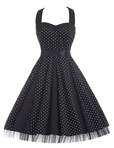 50s style dress with petticoat - 2