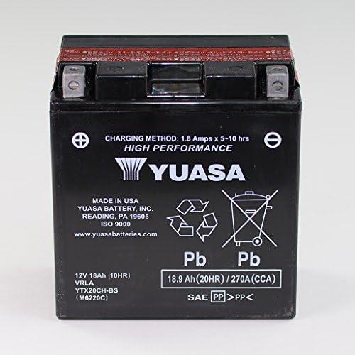 Batterie 12v 18ah Ytx20ch Bs Wartungsfrei Yuasa Xl 1000 Va Varadero Abs Sd02 Vn 1700 Voyager Vnt70a Stelvio 1200 Auto
