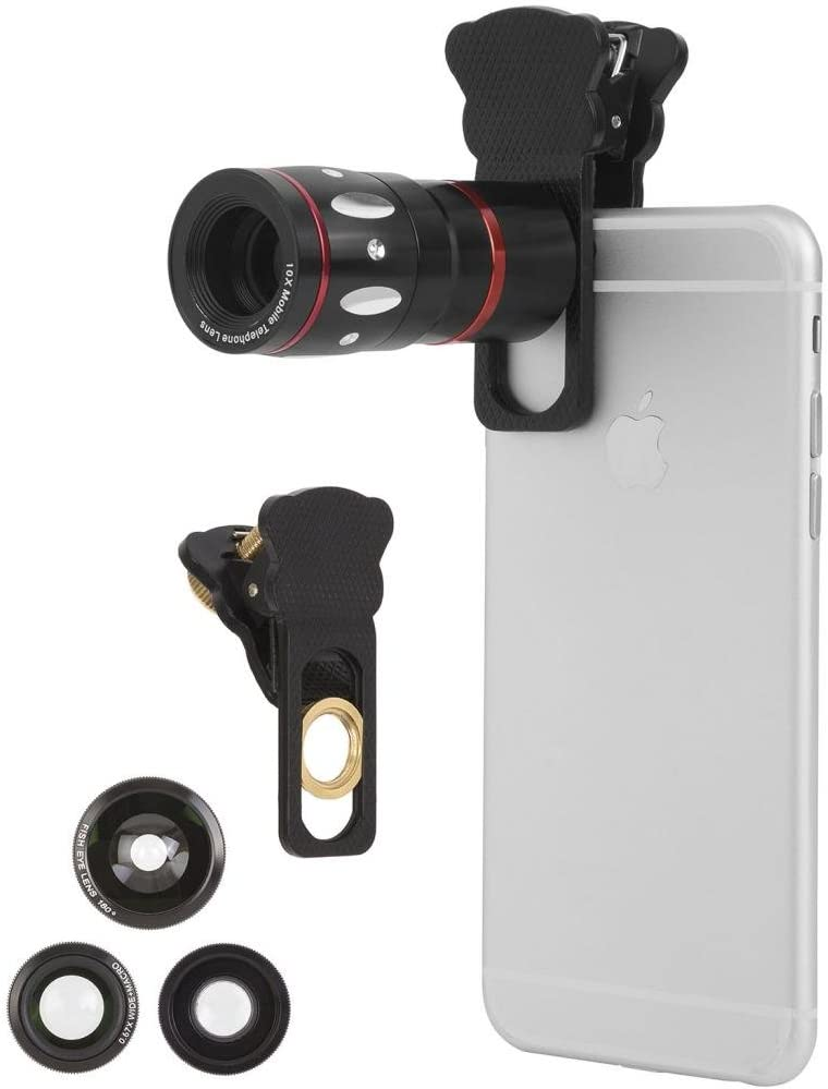 Ivation Universal Smartphone For iPhone 6 /6 plus Camera Lens Kit: Amazon.es: Electrónica