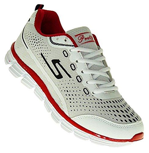 Neu Sportschuhe Schuhe Herren Sneaker 411 Art Neon Turnschuhe xqazwP