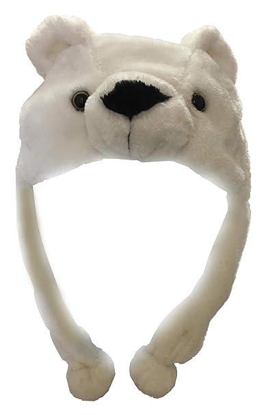 pidak Cappello Dell Orso Bianco  Amazon.it  Abbigliamento 4bfa11e7eebc