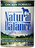 Natural Balance Ultra Premium Chicken Canned Dog Formula, Case of 12 Cans/13 Oz