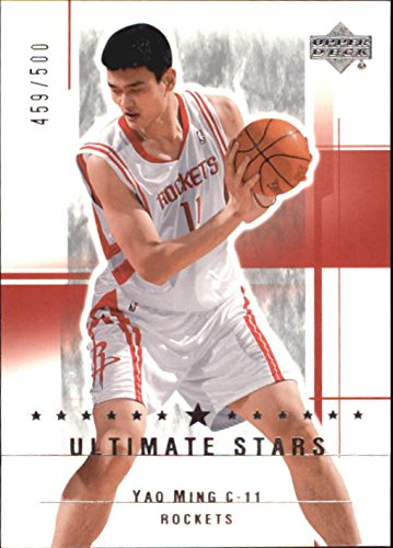 Collection Ming (2003-04 Ultimate Collection #172 Yao Ming US Card /500)
