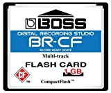 1GB Boss Roland BR-CF CompactFlash CF Memory Card for BR-600, BR-864, BR-900CD, MC-808