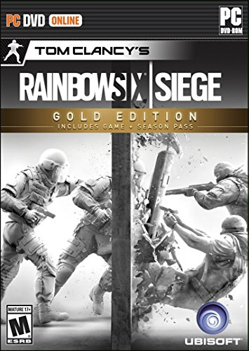 Tom Clancy's Rainbow Six Siege - Gold Edition - PC (The Division Game Of The Year Edition)