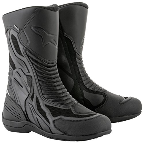 Gore Tex Xcr Boots - Alpinestars Air Plus v2 Gore-Tex XCR Boots Black Euro Size 46 / US Size 11.5