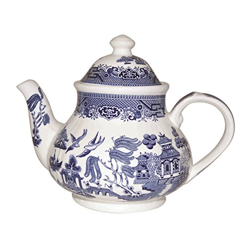 Churchill Blue Willow - Georgian Teapot - 1200ml - 6 Cup
