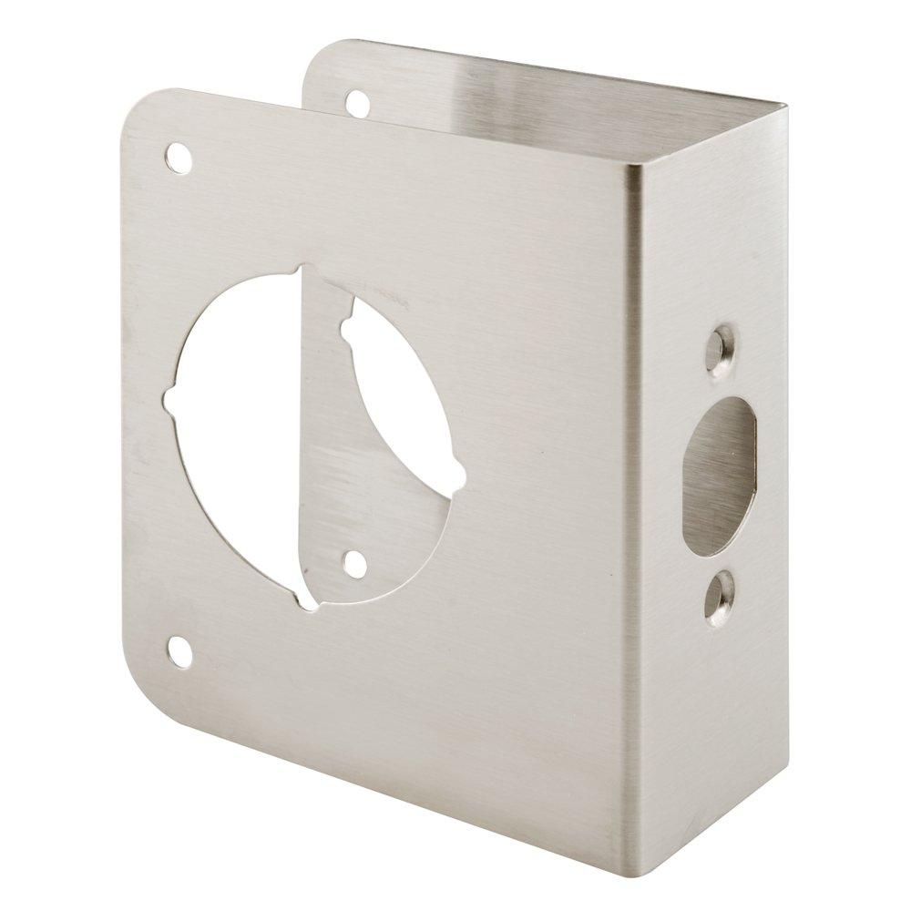 Defender Security U 9590 Lock & Door Reinforcer, 2-1/8 in. x 2-3/8 in. x 1-3/4 in., Stainless Steel