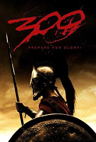 300 Movie POSTER 27 x 40, Gerard Butler, Lena Headey, E, MAD