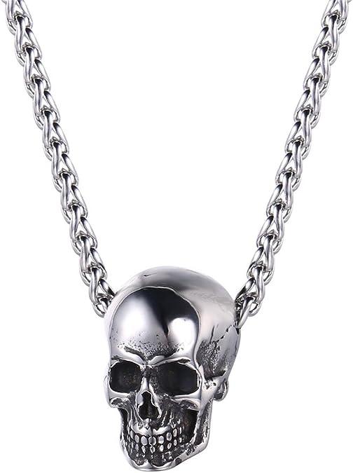 Acheter pendentif tete de mort online 1
