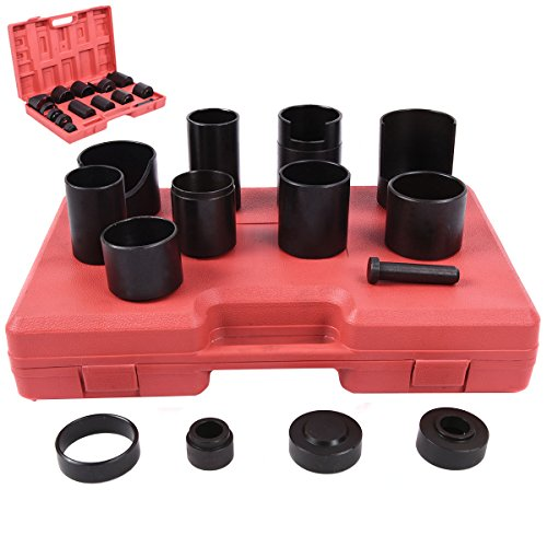 Ontario Canada Pc (PROSPERLY U.S.Product 14 Pc Master Ball Joint Remover Installer Adaptors Kit Receiving Tube)