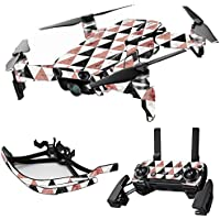 MightySkins Skin for DJI Mavic Air Drone - Marble Pyramids | Max Combo Protective, Durable, and Unique Vinyl Decal wrap cover | Easy To Apply, Remove, and Change Styles | Made in the USA