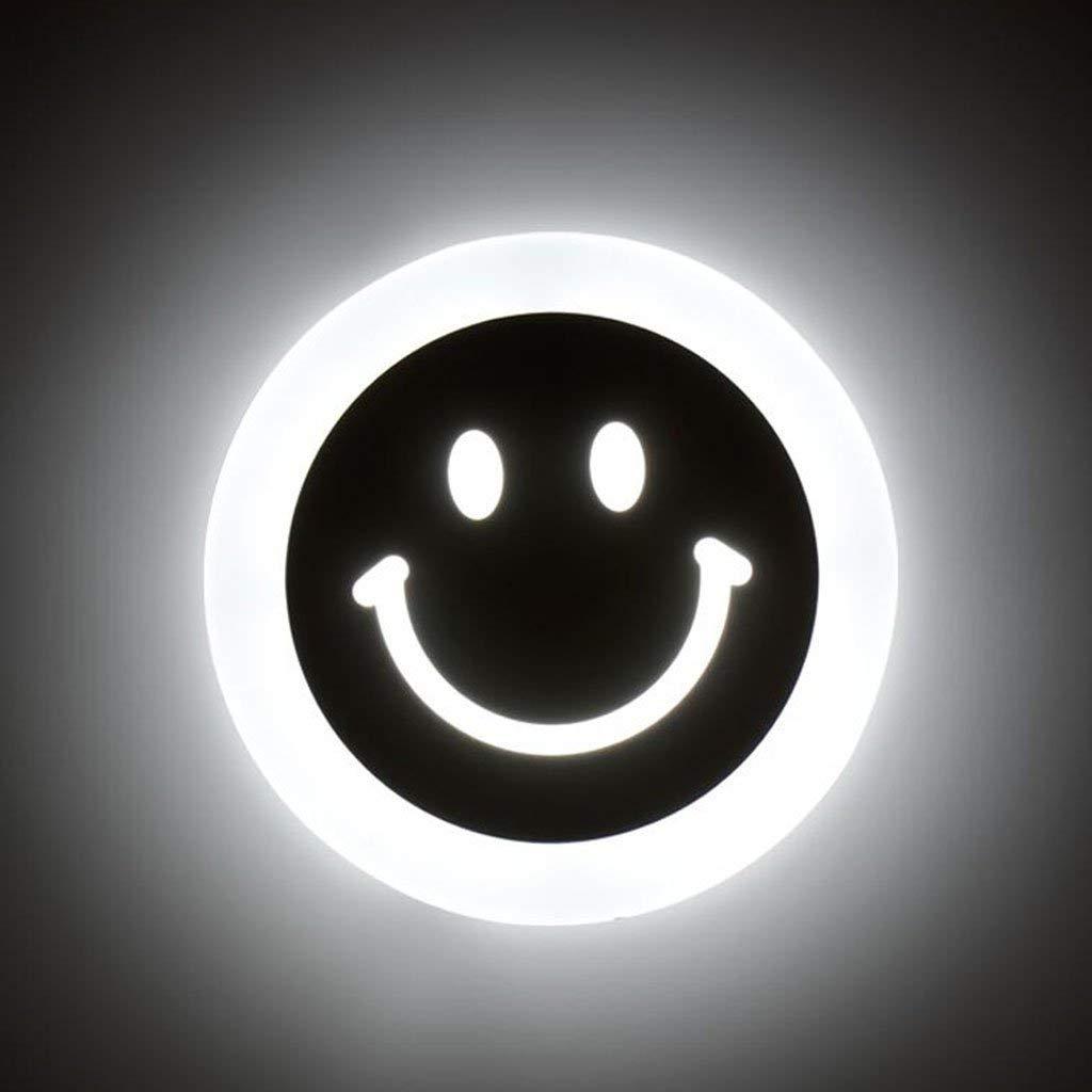 EMILF Home Lächeln Wandleuchte acryl led nachttischlampe Gang eingangshalle Wandleuchte kreative Wandleuchte Wandleuchte