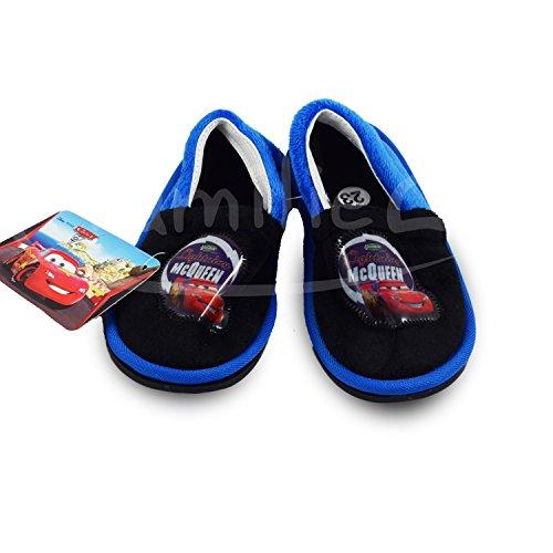 Disney Cars Kinderhausschuhe blau Slipper Schuhe Pantoffeln Hausschuhe Pantoffel