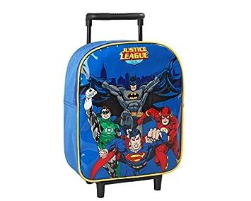 Atosa-16160 DC Comics Mochila Carrito Justice League Color Azul (16160: Amazon.es: Juguetes y juegos