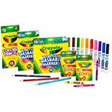 Crayola Back to School Supplies for Girls and Boys, Amazon Exclusive Art Set, 80 Pieces