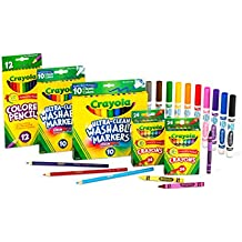 Crayola Back to School Supplies Set, Art Set, Grades K, 1, 2