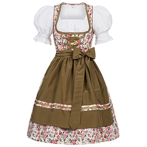 Women's German Dirndl Dress Costumes for Bavarian Oktoberfest Carnival Halloween Josie 36 ()