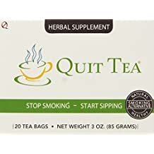 Quit Tea Natural Stop Smoking Aid 20 bags ,3oz