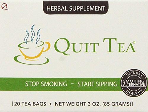 Quit Tea Natural Stop Smoking Aid 20 bags ,3oz