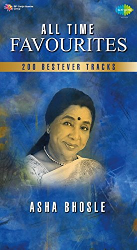 All Time Favourites Asha Bhosle Best Hindi Tracks Songs 2 MP3 CDs