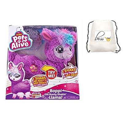 POG Kids Girls (Bonus Exclusive Al La Frantiea stylo) zur Pets Alive Boppi The Booty Shakin Llama Battery-Powered Dancing Robotic Toy Purple: Toys & Games